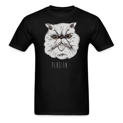 T-shirt Persian Cat