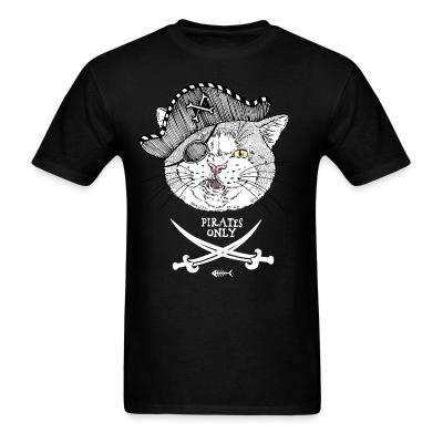 T-shirt Pirates only