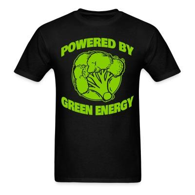 T-shirt Powered by green energy