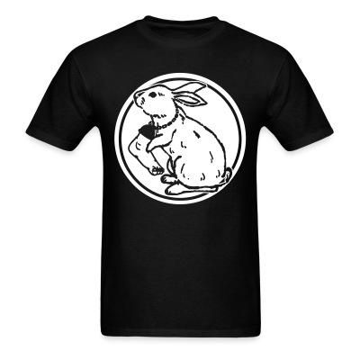 T-shirt Rabbit foot