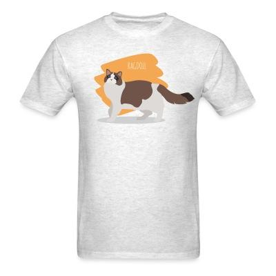 T-shirt Ragdoll Cat