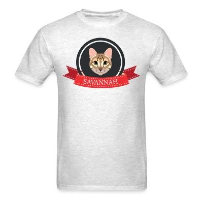 T-shirt Savannah Cat