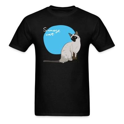 T-shirt Siamese Cat
