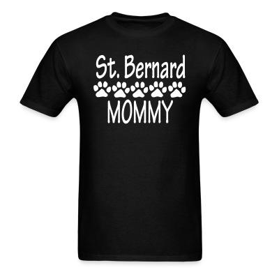 St. Bernard Mommy