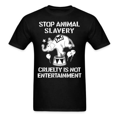Stop animal slavary cruelty is not entertainement