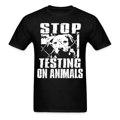 Stop testing on animals