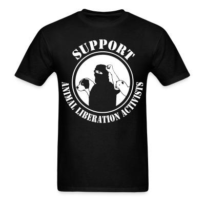 Support animal liberation activists