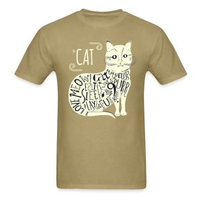 T-shirt The cat