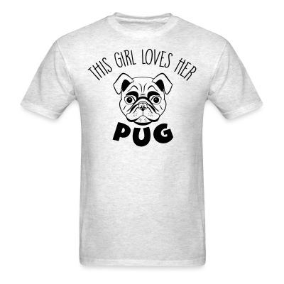 This girl love her pug