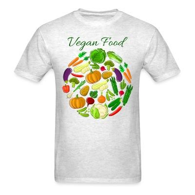 T-shirt Vegan food