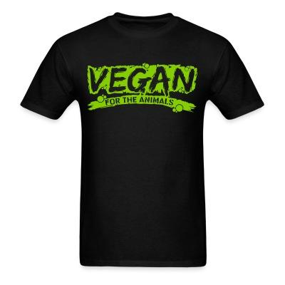 T-shirt Vegan for the animals