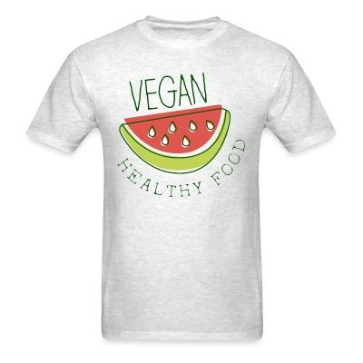 T-shirt Vegan healthy food