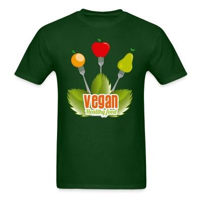 T-shirt Vegan Healty food