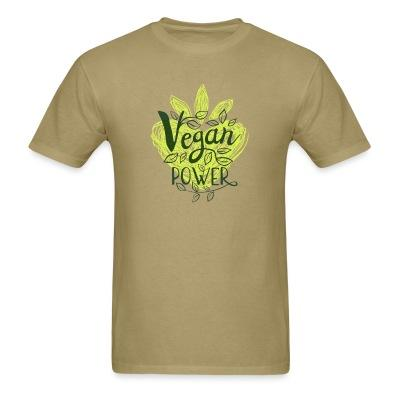 T-shirt Vegan power