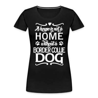A house is not a home without a  Border Collie dog