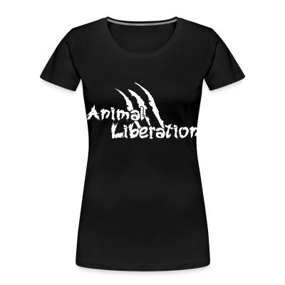 Women Organic Animal liberation
