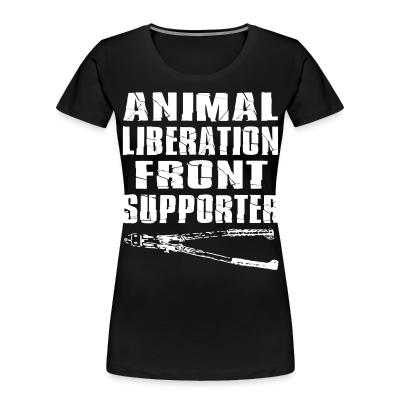 Animal liberation front supporter