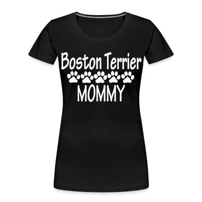 Boston terrier mommy