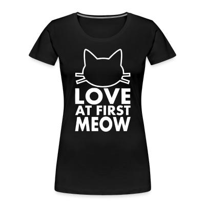 Women Organic love at first meow