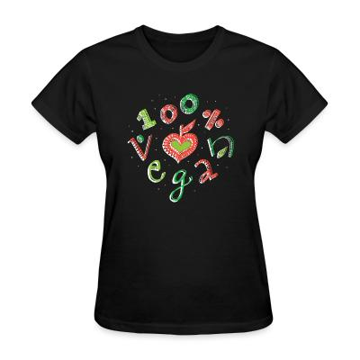 Women T-shirt 100% Vegan