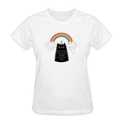 Women T-shirt Always be yourself  uneless you can be a unicorn then always be a unicorn