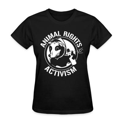 Women T-shirt Animal rights activism