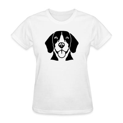 Women T-shirt Beagle Dog