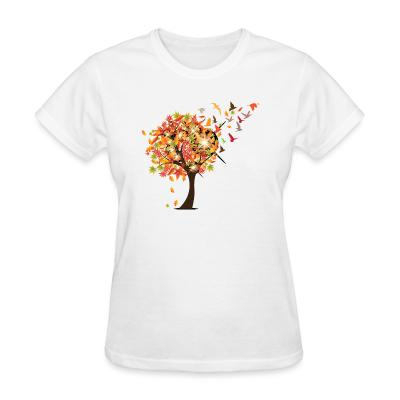 Women T-shirt Bird