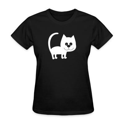 Women T-shirt Cat Cats
