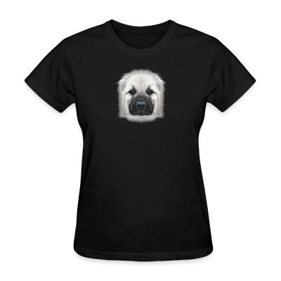 Women T-shirt Central Asian Shepherd Dog