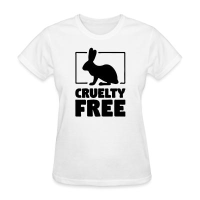 Women T-shirt Cruelty free