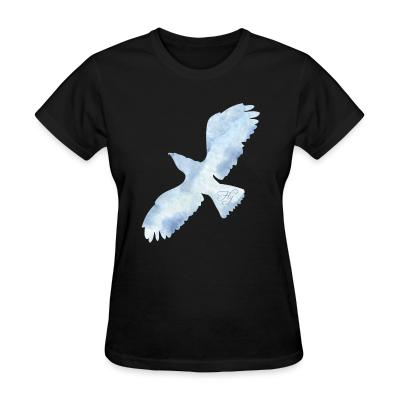 Women T-shirt Fly