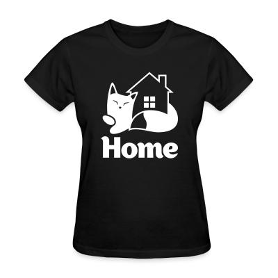 Women T-shirt Home