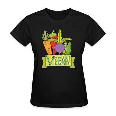 Women T-shirt Vegan