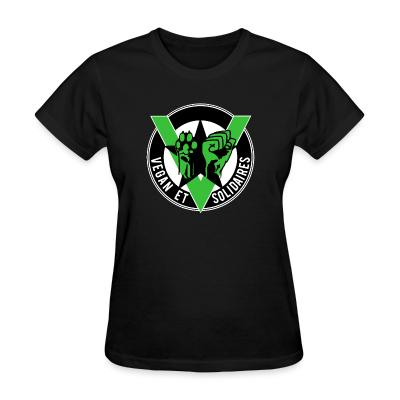 Women T-shirt Vegan et solidaires