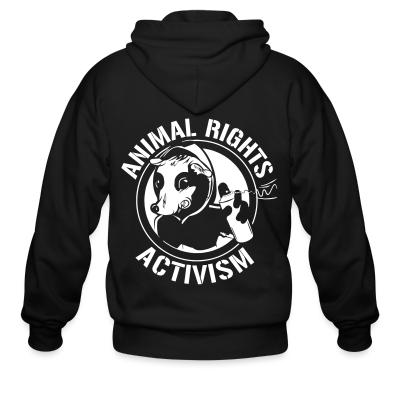 Zip hoodie Animal rights activism