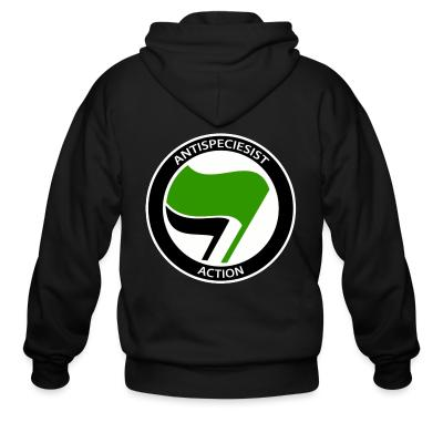Zip hoodie Antispeciesist action