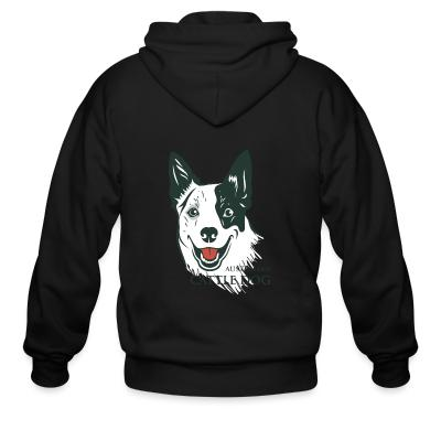 Zip hoodie Australian Cattle Dog