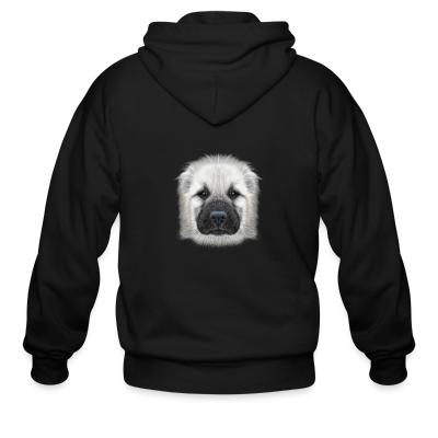Zip hoodie Central Asian Shepherd Dog