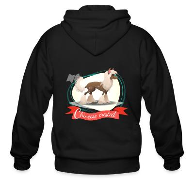 Zip hoodie Chinese Crested