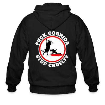 Animal Rights Activism Zip hoodie