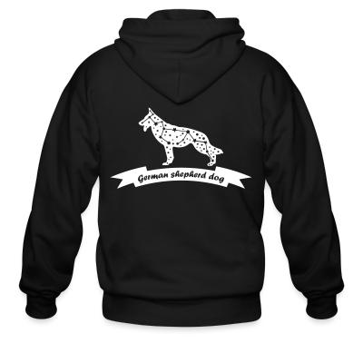 Zip hoodie German Shepherd Dog