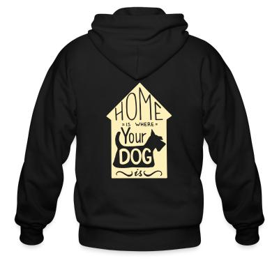 Zip hoodie Homme is where your dog