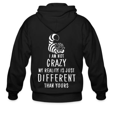 Zip hoodie I am not crazy different than yours