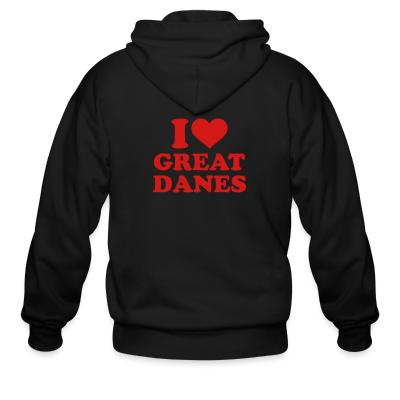 i love great danes