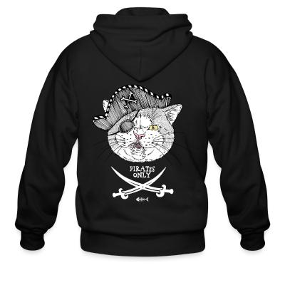 Zip hoodie Pirates only