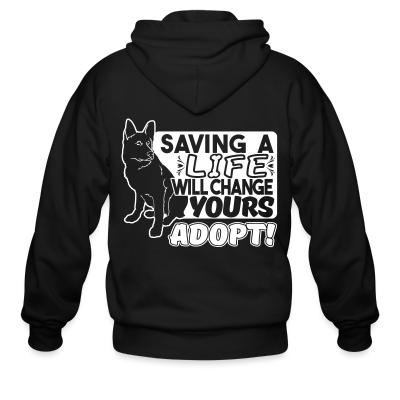 saving a life will change yours adopt !