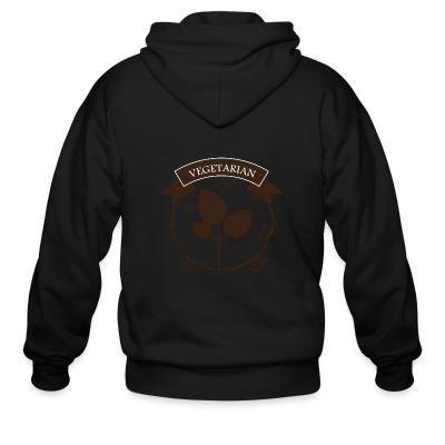 Zip hoodie Vegetarian