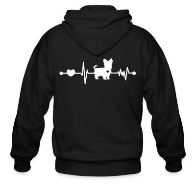 Yorkshire Terrier Dog heartbeat