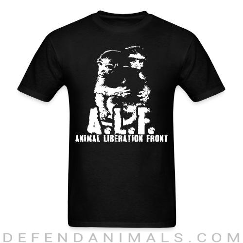 Standard t-shirt (unisex) A.L.F animal liberation front  - Animal Rights Activism